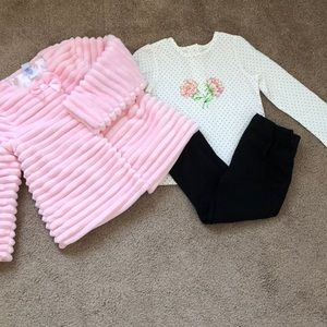 Little Me Matching Set ( 3xpieces)- Sz 4T